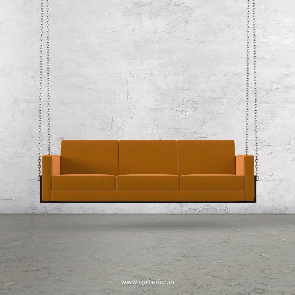 NIRVANA 3 Seater Swing Sofa in Velvet Fabric - SSF001 VL18