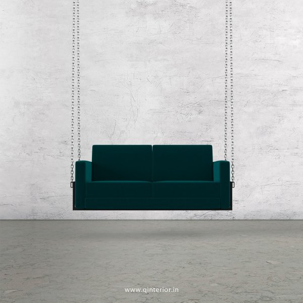 NIRVANA 2 Seater Swing Sofa in Velvet Fabric - SSF001 VL13