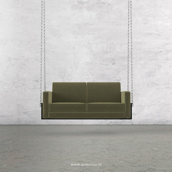 NIRVANA 2 Seater Swing Sofa in Velvet Fabric - SSF001 VL04