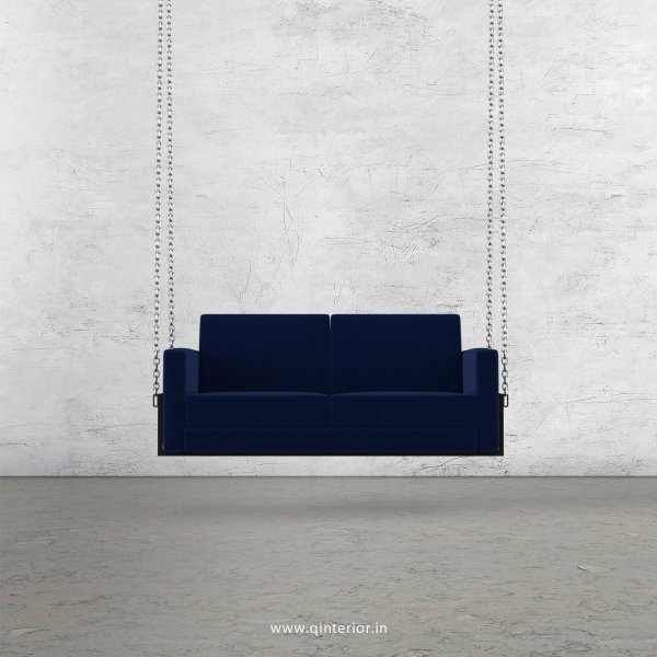 NIRVANA 2 Seater Swing Sofa in Velvet Fabric - SSF001 VL05