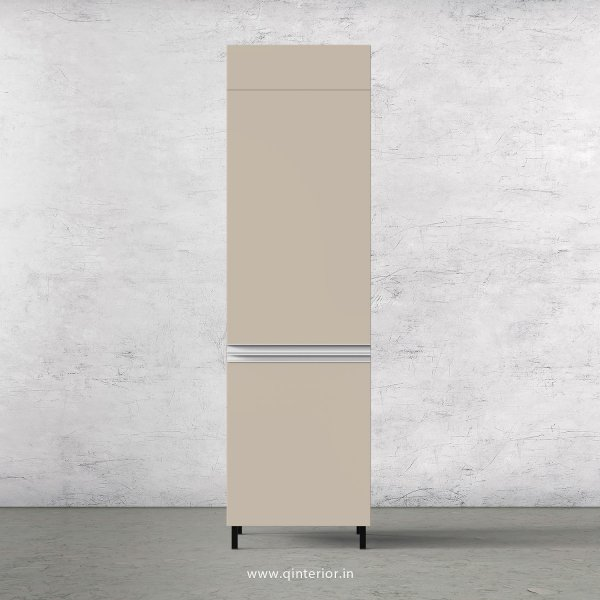 Lambent Refrigerator Unit in Teak and Irish Cream Finish - KTB806 C11