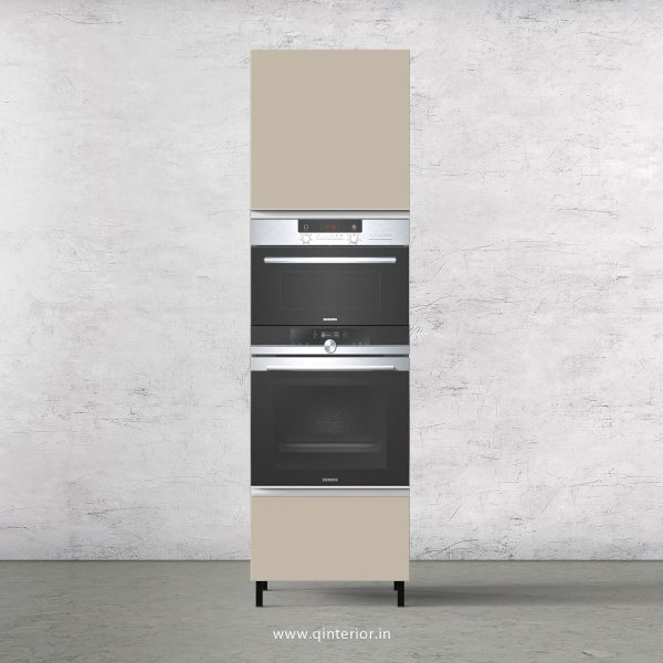 Lambent Microwave and OTG Unit in Teak and Irish Cream Finish - KTB805 C11