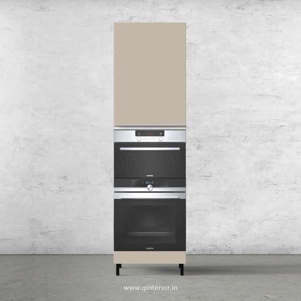 Lambent Microwave and OTG Unit in Teak and Irish Cream Finish - KTB804 C11