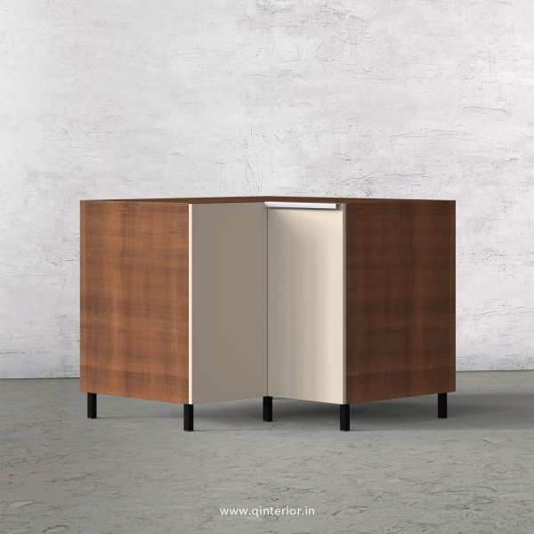 Lambent Kitchen Base Corner Unit in Teak and Irish Cream Finish - KBB808 C11