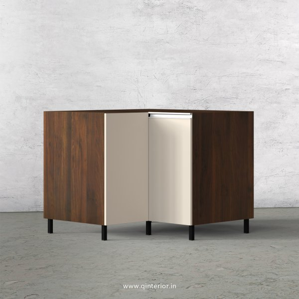 Lambent Kitchen Base Corner Unit in Walnut and Ceramic Finish - KBB808 C7