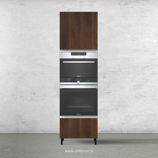 Stable Microwave and OTG Unit in Walnut Finish - KTB805 C1