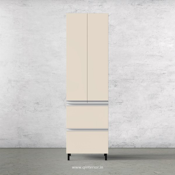 Lambent Kitchen Tall Unit in Oak and Ceramic Finish - KTB803 C05