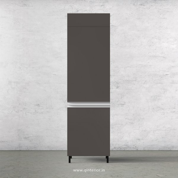 Lambent Refrigerator Unit in Teak and Slate Finish - KTB806 C15