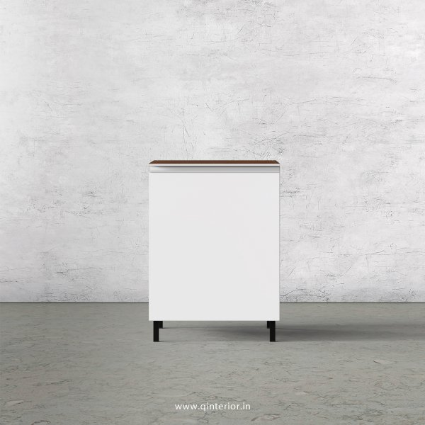 Lambent Kitchen Base Unit in Teak and White Finish - KBB802 C06