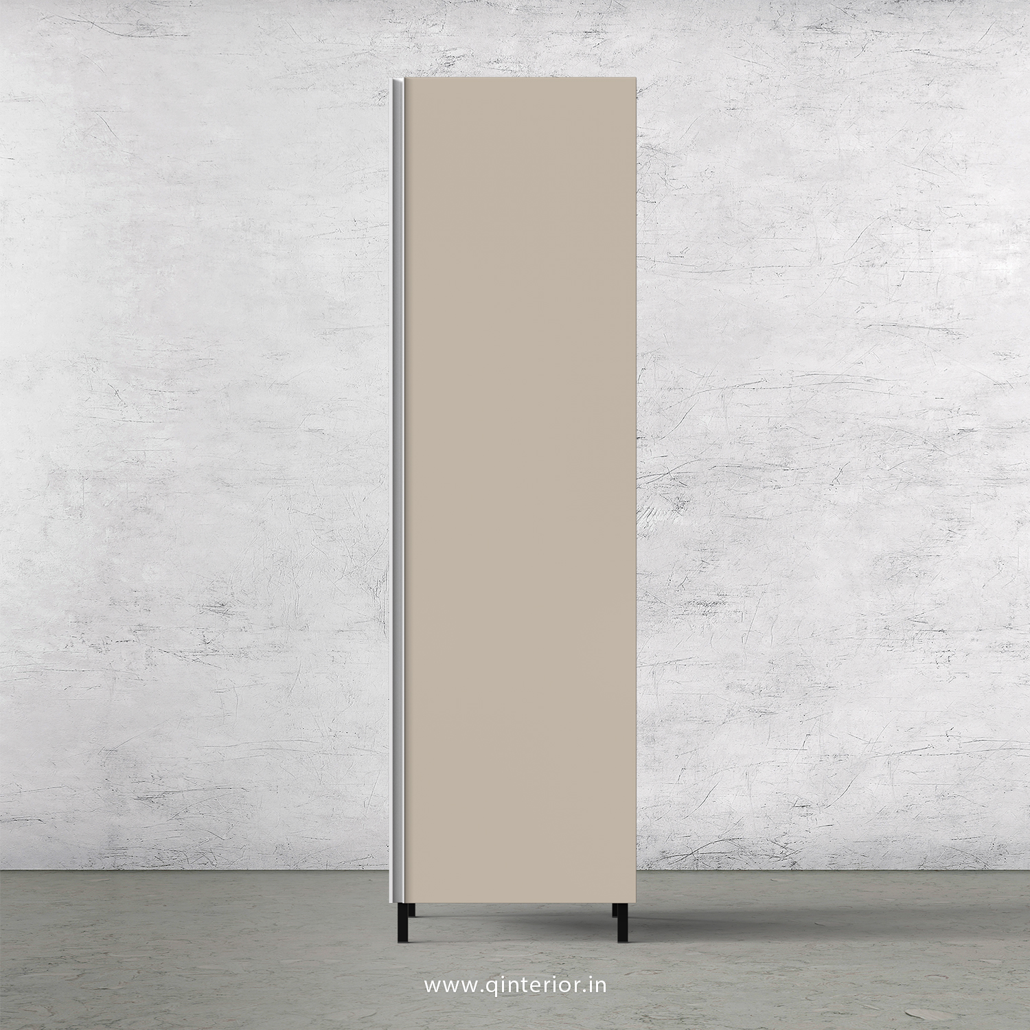 Lambent Kitchen Tall Unit in White and Irish Cream Finish - KTB801 C88