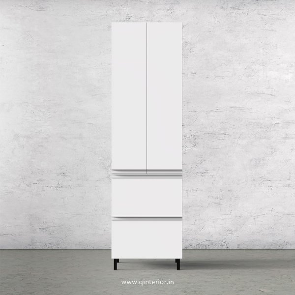Stable Kitchen Tall Unit in White Finish - KTB803 C4