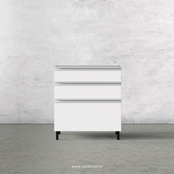 Stable Kitchen Base Unit in White Finish - KBB805 C4