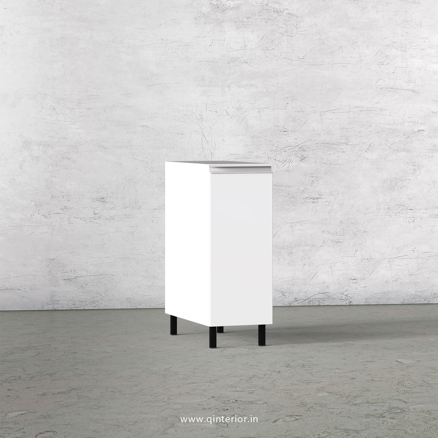 Stable Kitchen Two Layer Pull Out Unit in White Finish - KBB801 C4