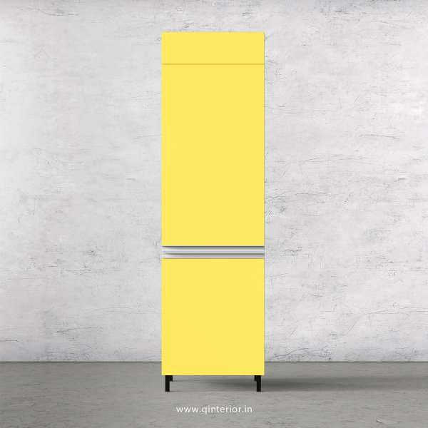 Lambent Refrigerator Unit in White and Marigold Finish - KTB806 C89