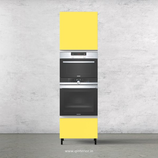Lambent Microwave and OTG Unit in White and Marigold Finish - KTB805 C89