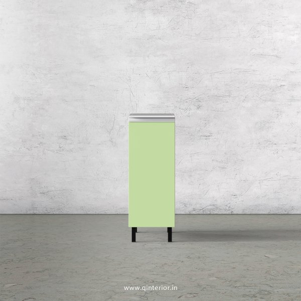 Lambent Kitchen Three Layer Pull Out Unit in White and Pairie Green Finish - KBB809 C83