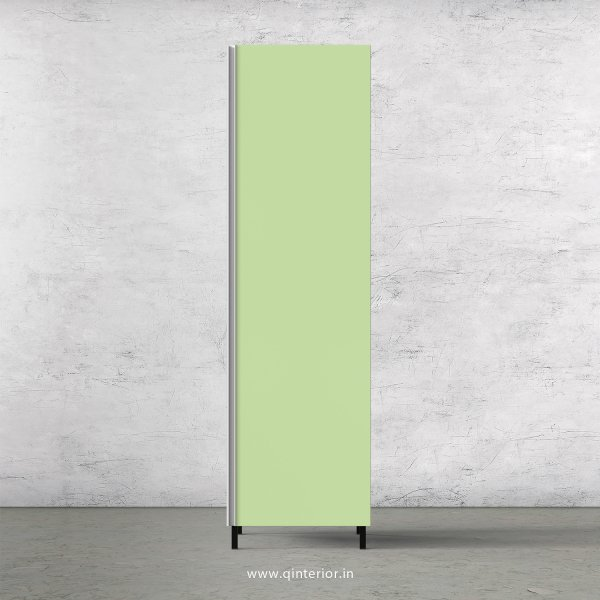 Lambent Kitchen Tall Unit in White and Pairie Green Finish - KTB801 C83