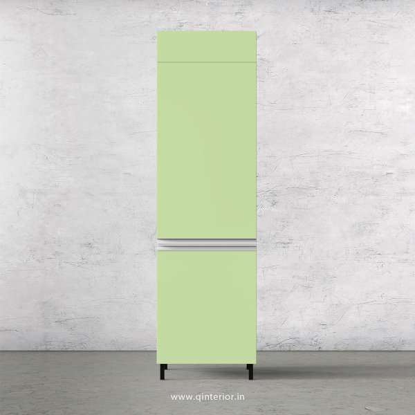 Lambent Refrigerator Unit in White and Pairie Green Finish - KTB806 C83