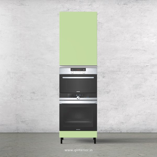 Lambent Microwave and OTG Unit in White and Pairie Green Finish - KTB804 C83