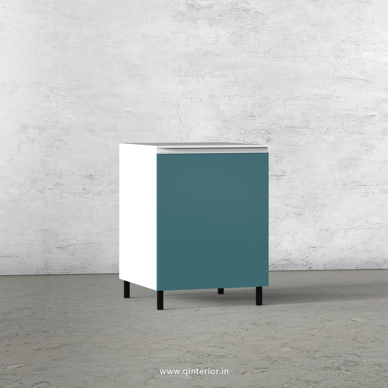 Lambent Kitchen Base Unit in White and Shore Finish - KBB802 C12