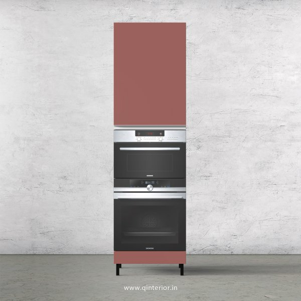 Lambent Microwave and OTG Unit in White and Blush Finish - KTB804 C17