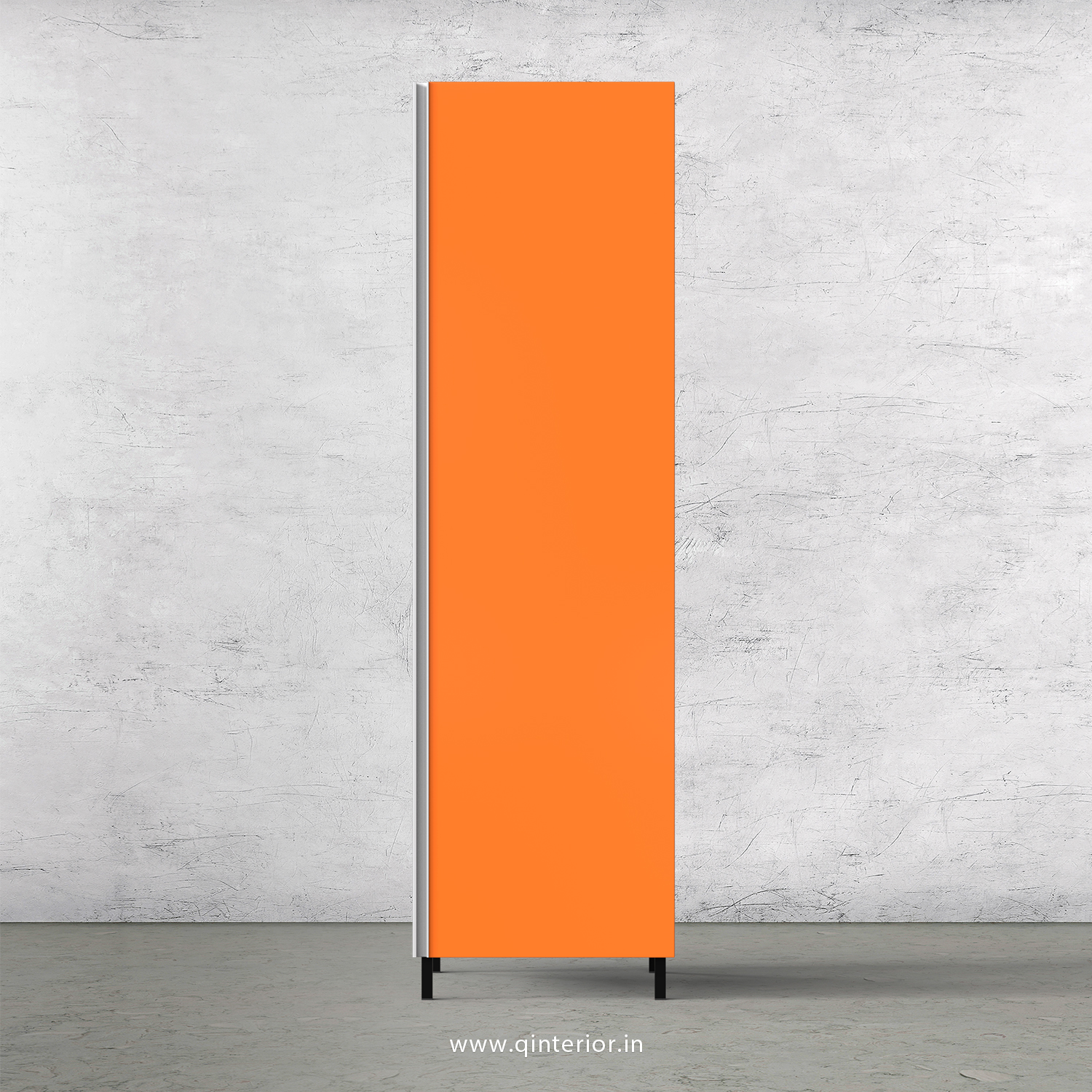 Lambent Kitchen Tall Unit in White and Saffron Finish - KTB801 C90