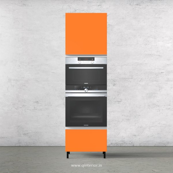 Lambent Microwave and OTG Unit in White and Saffron Finish - KTB805 C90