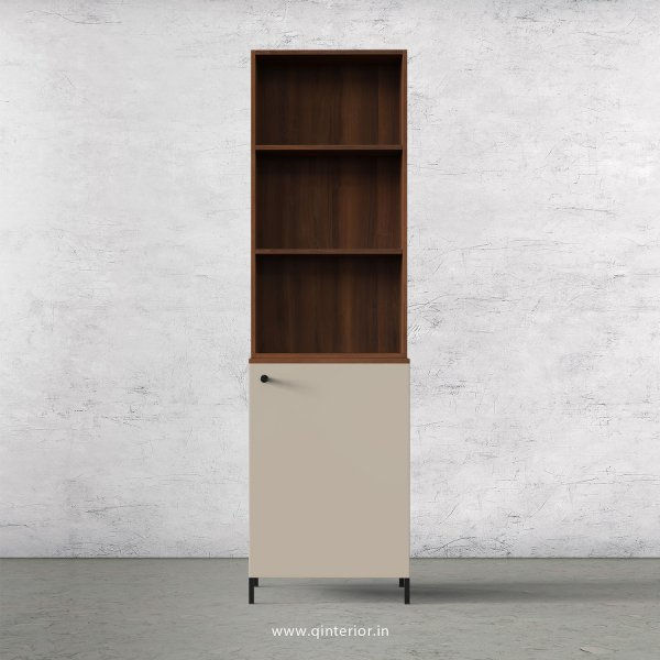 Lambent Refrigerator Unit in Teak and Irish Cream Finish - KTB808 C11