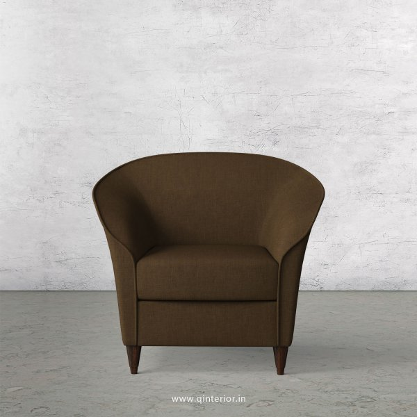 BURTON Arm Chair in Cotton Plain - ARM007 CP10