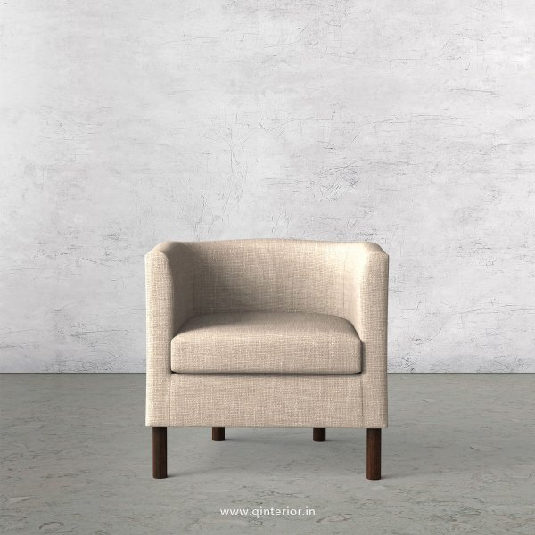 AMAYA Arm Chair in Cotton Plain - ARM015 CP02