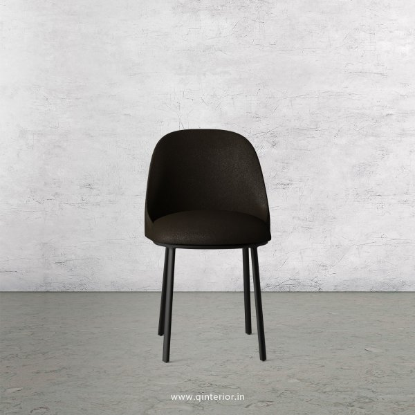Cafeteria Chair in Fab Leather Fabric - DCH001 FL11