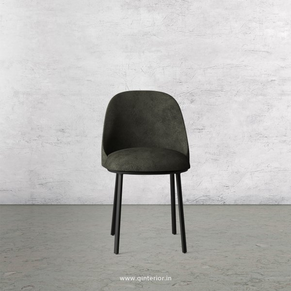 Cafeteria Chair in Fab Leather Fabric - DCH001 FL07
