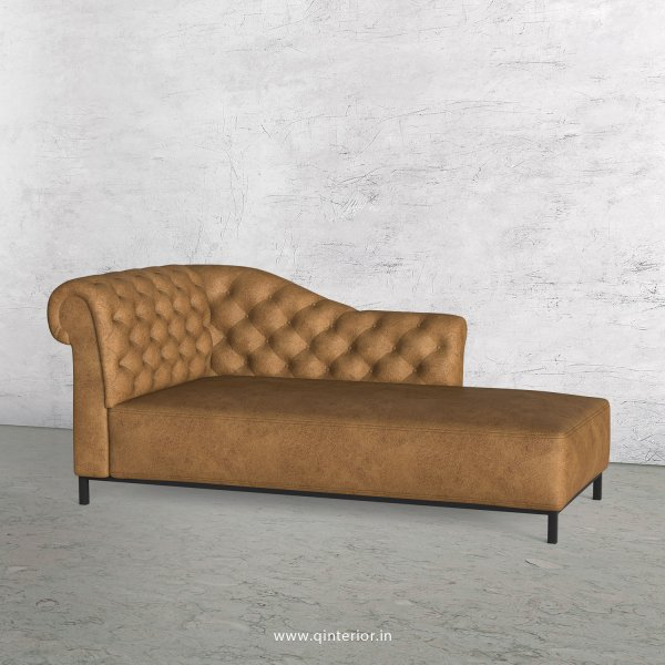 Amour Lounger Chaise in Fab Leather - LCH001 FL02