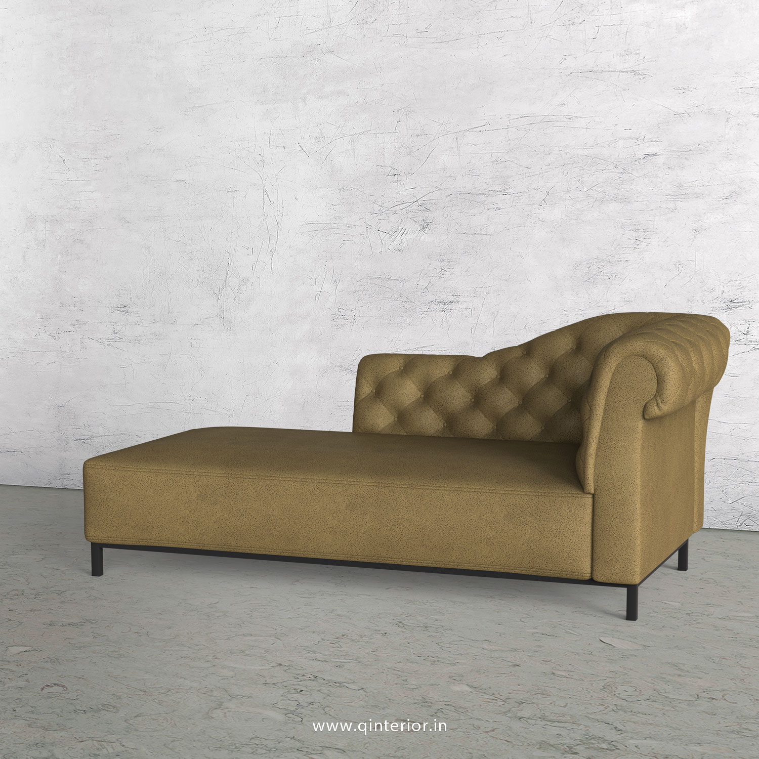 Amour Lounger Chaise in Fab Leather - LCH001 FL01