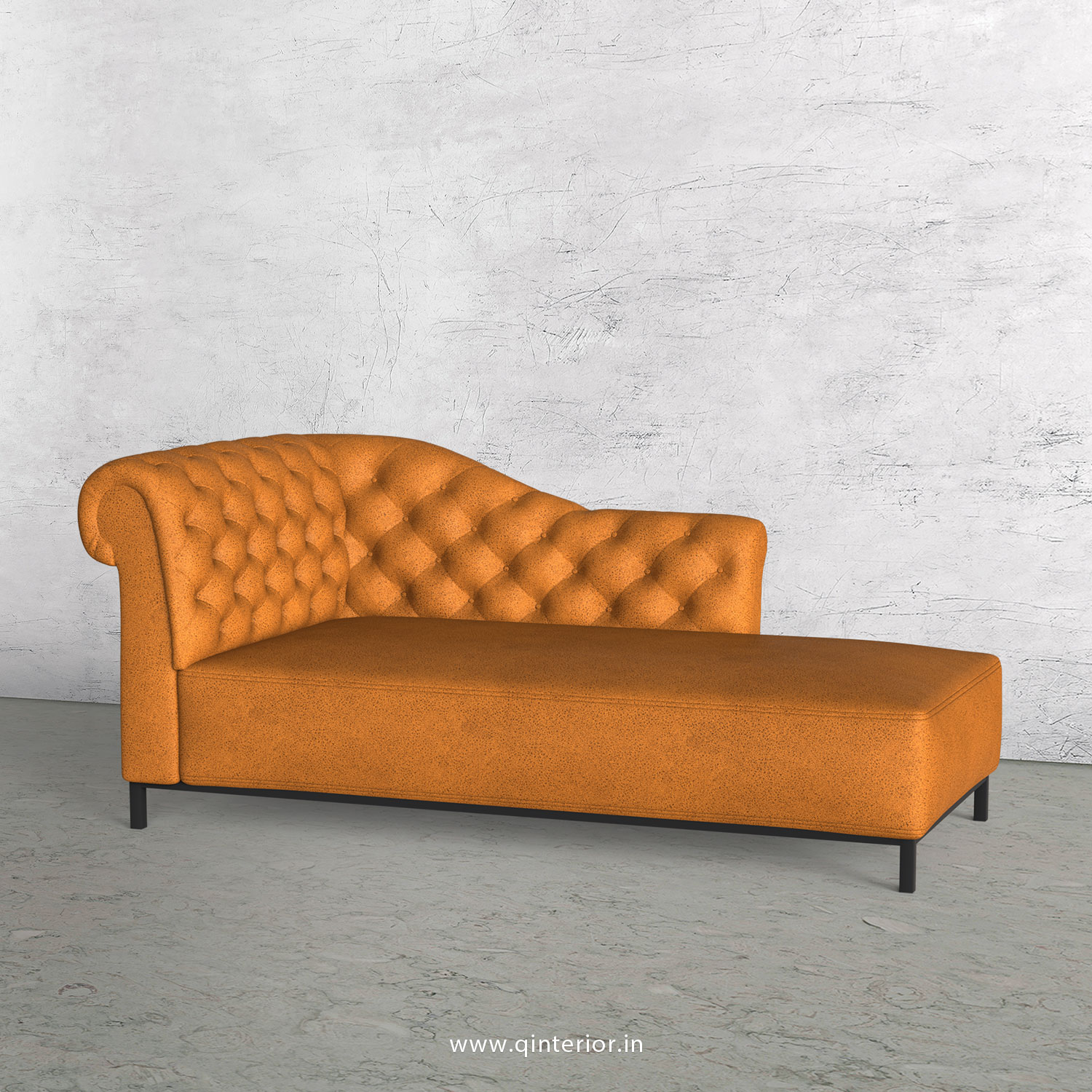 Amour Lounger Chaise in Fab Leather - LCH001 FL14