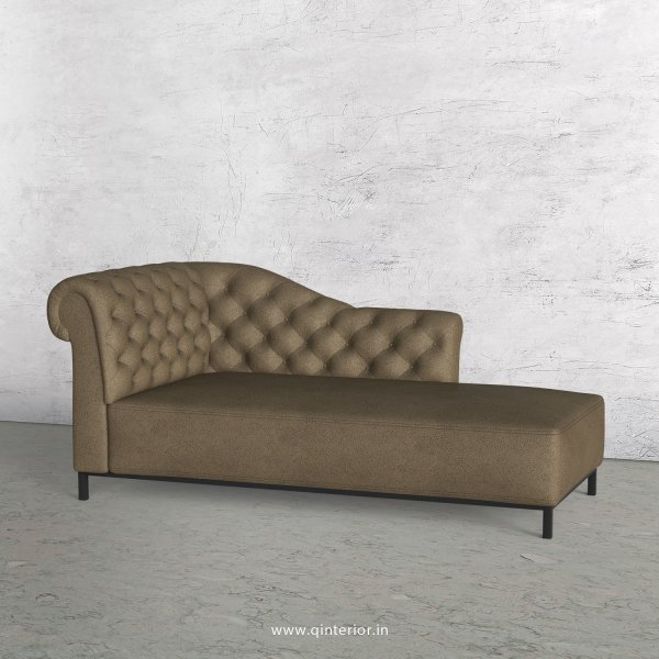 Amour Lounger Chaise in Fab Leather - LCH001 FL06