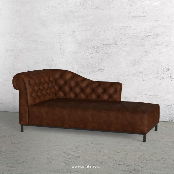 Amour Lounger Chaise in Fab Leather - LCH001 FL09