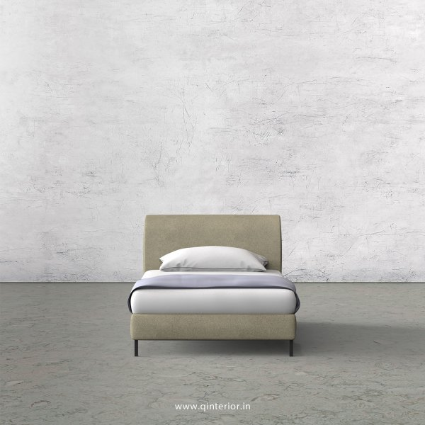 LUXURA Single Bed in Fab Leather – SBD003 FL10