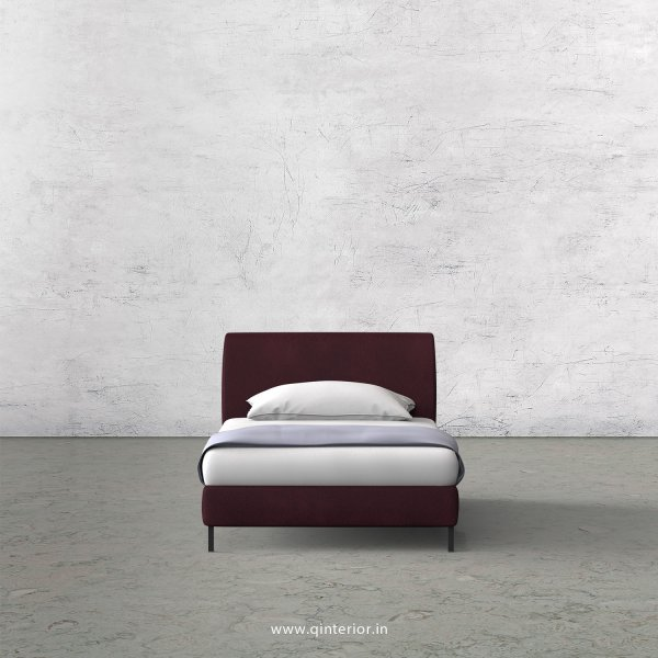 LUXURA Single Bed in Fab Leather – SBD003 FL12