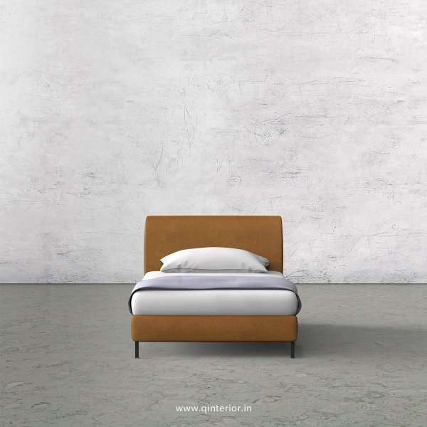 LUXURA Single Bed in Fab Leather – SBD003 FL14