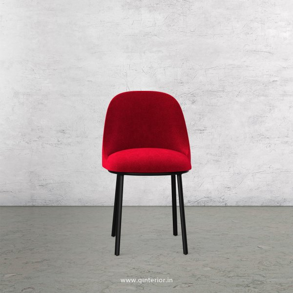 Cafeteria Chair in Velvet Fabric - DCH001 VL08