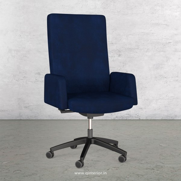 Office ArmRest Chair in Fab Leather - OEC001