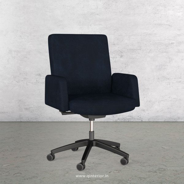 Office ArmRest Chair in Fab Leather - OSC001