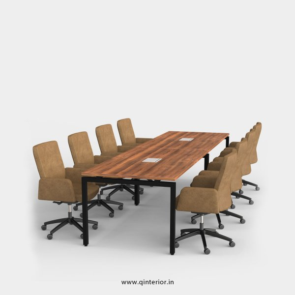 Montel Meeting Table in Teak Finish – OMT003 C3
