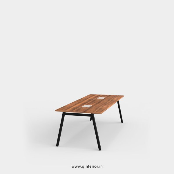 Berg Meeting Table in Teak Finish – OMT002 C3