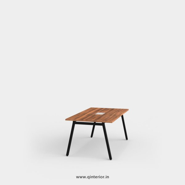 Berg Meeting Table in Teak Finish – OMT001 C3