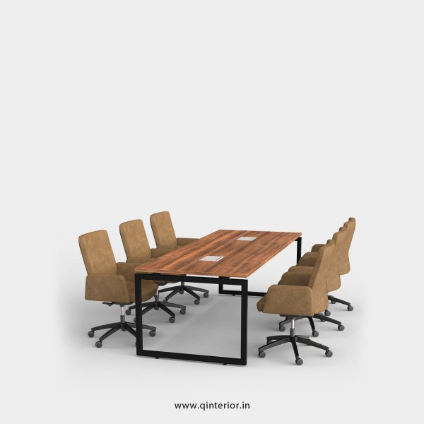 Aaron Meeting Table in Teak Finish – OMT002 C3