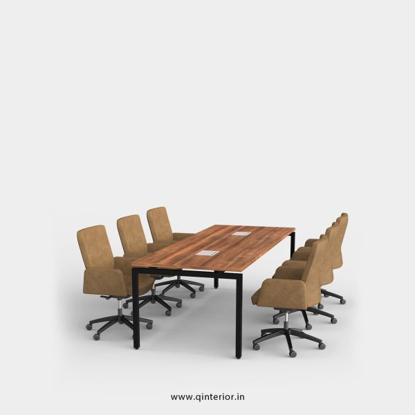 Montel Meeting Table in Teak Finish – OMT002 C3
