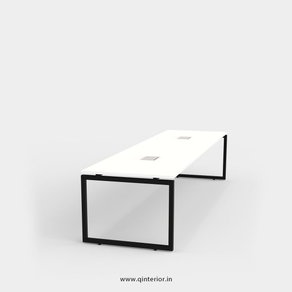 Aaron Meeting Table in White Finish - OMT003 C4