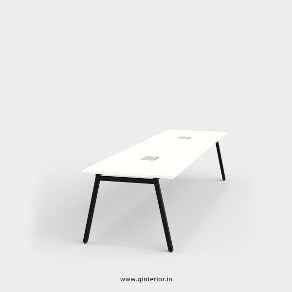 Berg Meeting Table in White Finish - OMT003 C4